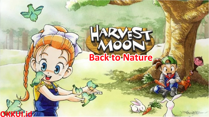 1. Harvest Moon Back to Nature