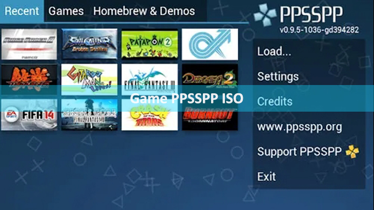 Game PPSSPP ISO